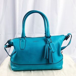 Coach Legacy Molly Satchel in Teal